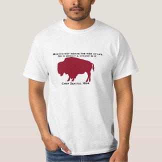 Seattle Crimson Bison T-Shirt