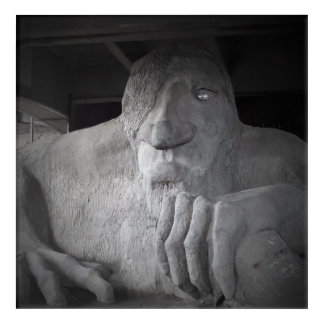 Seattle Fremont Troll Wall Art (various sizes)