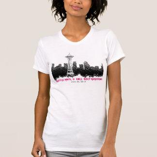 Seattle Rock n Roll Half Marathon 2012 Tee Shirt