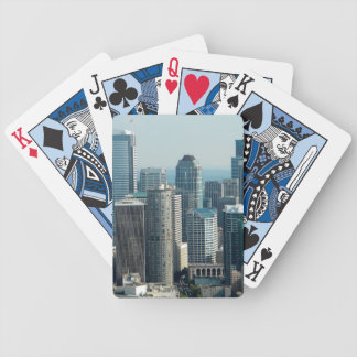 Seattle Sky Bicycle Playing Cards