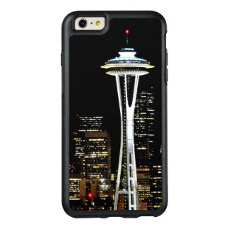 Seattle skyline at night, with Space Needle OtterBox iPhone 6/6s Plus Case