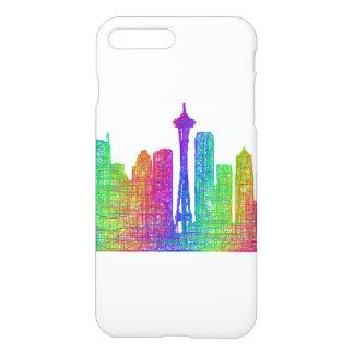 Seattle skyline iPhone 8 plus/7 plus case