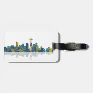 SEATTLE SKYLINE - Luggage Tag