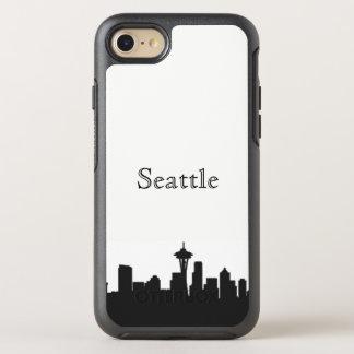 Seattle Skyline Silhouette Case
