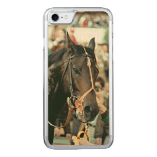 Seattle Slew Thoroughbred 1978 Carved iPhone 8/7 Case