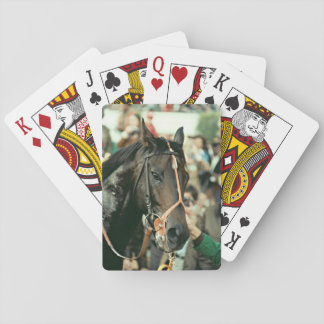 Seattle Slew Thoroughbred 1978 Playing Cards