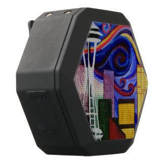 Seattle Swirl Black Bluetooth Speaker