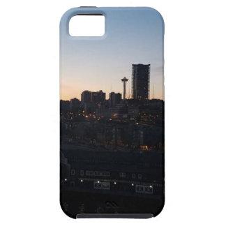 Seattle Washington Night Sky iPhone 5 Covers