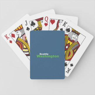 Seattle,Washington Playing Cards