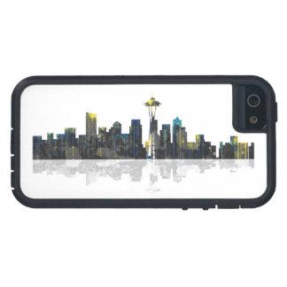 Seattle Washington Skyline Tough Xtreme iPhone 5 Case