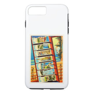 Seattle Washington WA Old Vintage Travel Souvenir iPhone 8 Plus/7 Plus Case