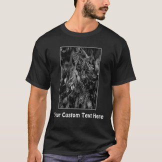 Seaweed, Black and White. T-Shirt