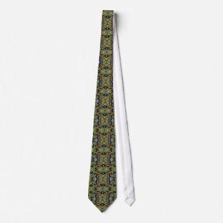 Seaweed camouflage tie
