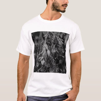 Seaweed in Black and White. T-Shirt