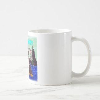 Seaweed on Neptune Basic White Mug