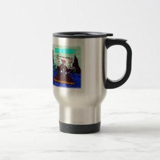 Seaweed on Neptune Travel Mug