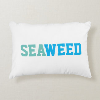 Seaweed Pillow Accent Cushion