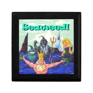 Seaweed! Small Square Gift Box