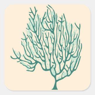 Seaweed Square Sticker