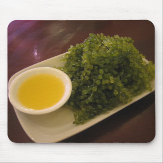 Seaweed with lemon sauce mouse pad