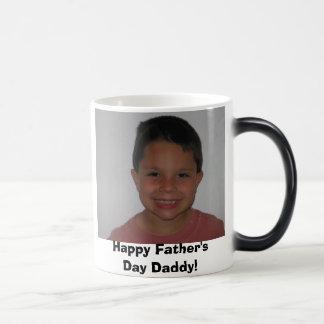 sebastiansummer07 003, Happy Father's Day Daddy! Morphing Mug