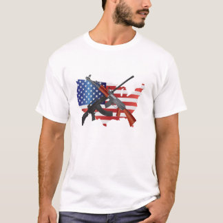 Second Amendment Rights to Bear Arms T-shirt