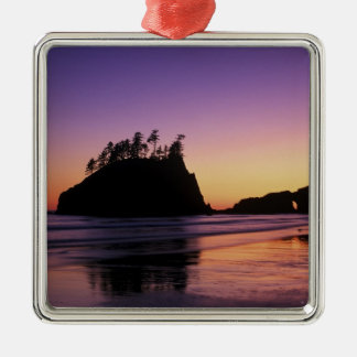 Second Beach at Twilight, Olympic NP, WA, USA Christmas Ornament
