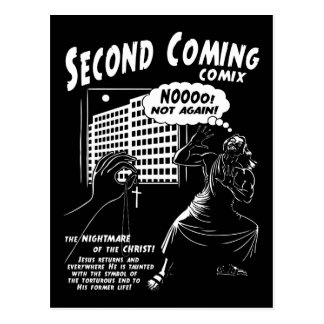 Second Coming Comix 1c Postcards