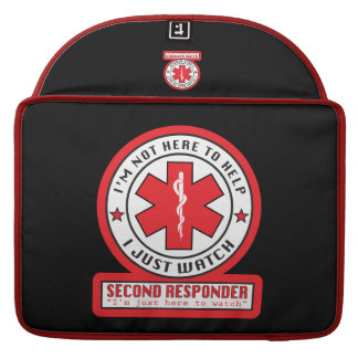 Second Responder Macbook Laptop Sleeve