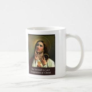 Second to Last Temptation of Christ Basic White Mug