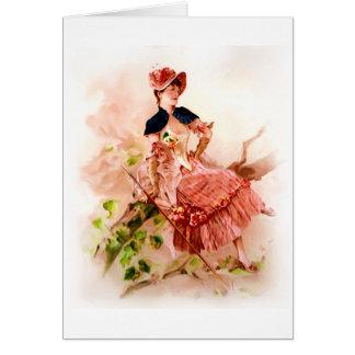 Secret Admirer / Admirer Greeting Card