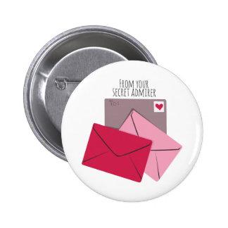 Secret Admirer Buttons