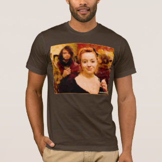 """Secret Admirer"" Basic American Apparel T-Shirt"