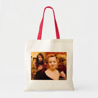 """""""Secret Admirer"""" Budget Tote Tote Bag"""