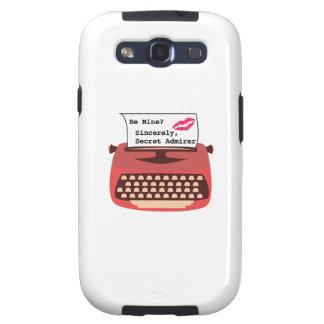 Secret Admirer Galaxy S3 Cover
