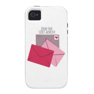 Secret Admirer Vibe iPhone 4 Covers