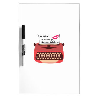 Secret Admirer Dry-Erase Whiteboard