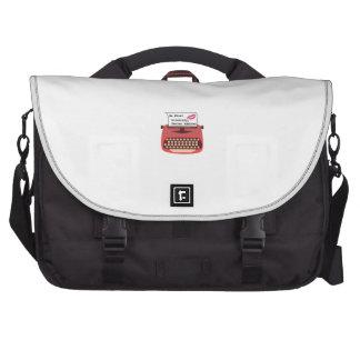Secret Admirer Laptop Messenger Bag