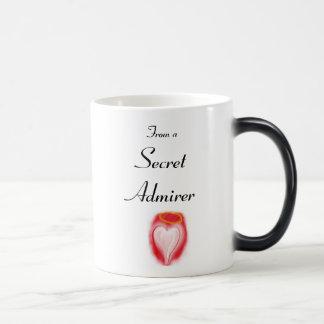Secret Admirer magic mug