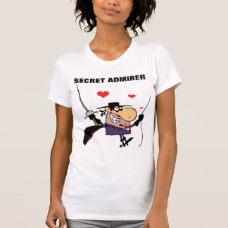 Secret Admirer Masked Man T-Shirt