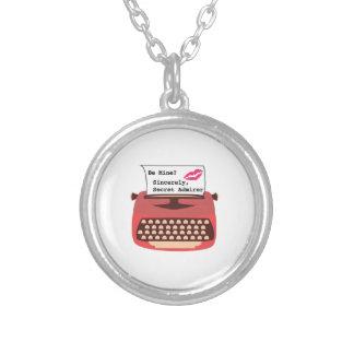 Secret Admirer Round Pendant Necklace