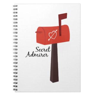 Secret Admirer Notebooks