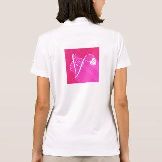 Secret Admirer Pink Shadow Polo Shirt