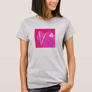 Secret Admirer Pink Shadow T-Shirt