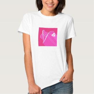 Secret Admirer Pink Shadow T-shirts