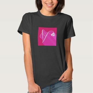 Secret Admirer Pink Shadow Tshirts