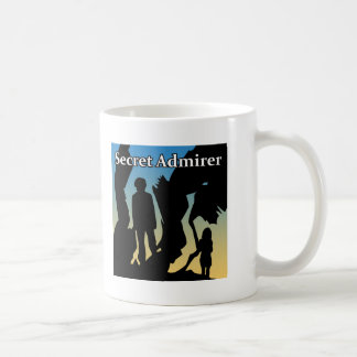Secret Admirer T-Shirts, Buttons & Magnets Basic White Mug
