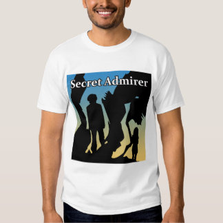 Secret Admirer T-Shirts, Buttons & Magnets T-shirts