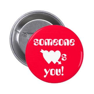 Secret Admirer Valentines Button