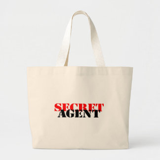 Secret Agent Canvas Bag